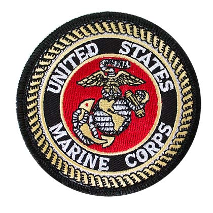 US Marines 3 Inch Patch