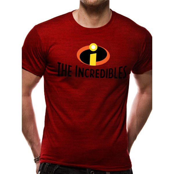 The Incredibles Logo Unisex T Shirt Red For Only C 22