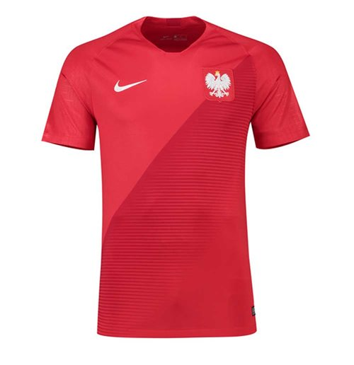 2018-2019 Poland Away Nike Football Shirt