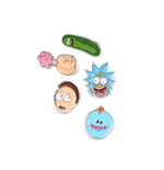 Rick & Morty - Characters Pin Set