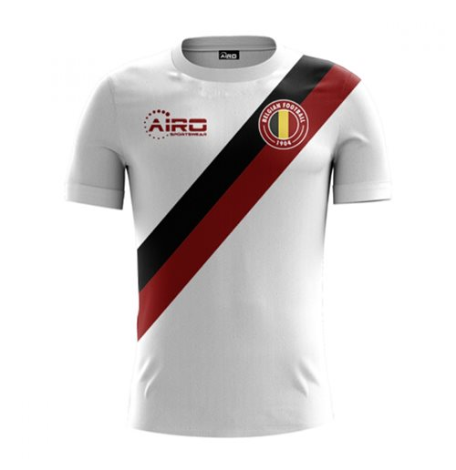 2018-2019 Belgium Away Concept Football Shirt (Kids)