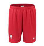 2018-2019 Poland Nike Away Shorts (Red)