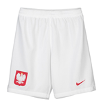 2018-2019 Poland Nike Home Shorts (White) - Kids