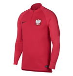 2018-2019 Poland Nike Squad Drill Training Top (Red)