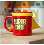 Super Dad Mug with cape