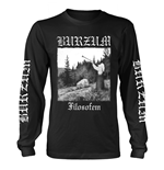 Burzum Long Sleeves T-shirt Filosofem 2018