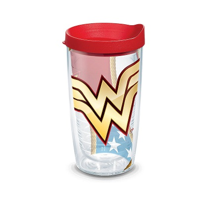 Tervis Wonder Woman 16 Ounce Tumbler With Lid