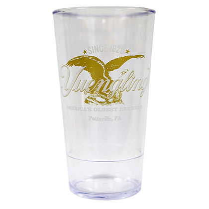 YUENGLING Eagle Logo 20oz Plastic Beer Drinking Cup