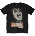 KISS Men's Tee: The Demon Rock