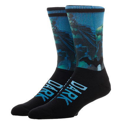 BATMAN Dark Knight Artwork Men's Crew Socks