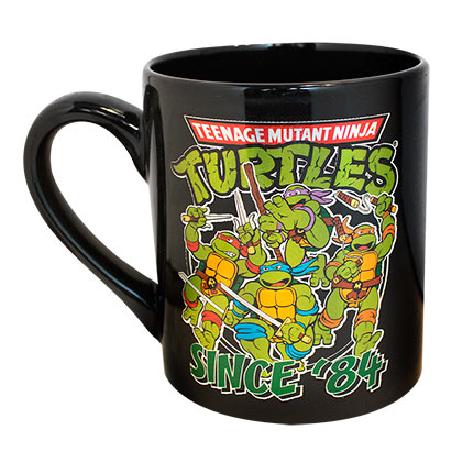 TEENAGE MUTANT NINJA TURTLES Since '84 Coffee Mug