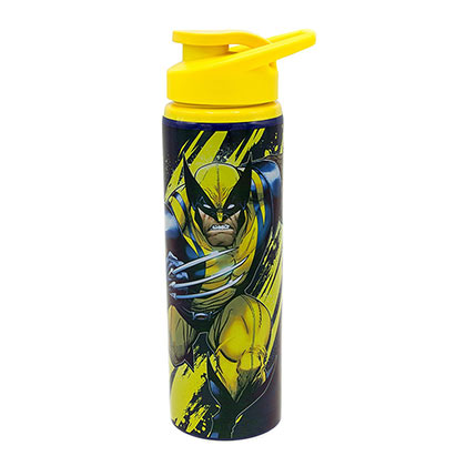 WOLVERINE X-Men Stainless Steel Yellow 25oz Water Bottle