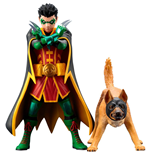 DC Comics ARTFX+ Statue 1/10 2-Pack Robin & Ace the Bat-Hound 15 cm
