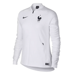 2018-2019 France Nike Anthem Jacket (White) - Womens