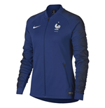 2018-2019 France Nike Anthem Jacket (Deep Royal) - Womens