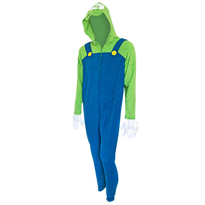 Super MARIO Bros. Luigi Men's Union Suit Costume