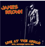Vynil James Brown - Live At The Apollo: Nyc, October 24Th 1962