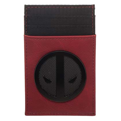 DEADPOOL Credit Card Holder Red Wallet
