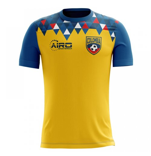 2018-2019 Colombia Home Concept Football Shirt for only C$ 61.90 at ...