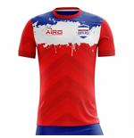 2018-2019 Costa Rica Home Concept Football Shirt