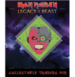 Iron Maiden Legacy of the Beast Pin Badge Cyborg Eddie