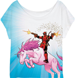 Deadpool Ladies T-Shirt Unicorn