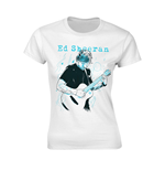 Ed Sheeran T-shirt Guitar Line Illustration