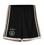 2018-2019 Ajax Adidas Away Shorts (Black) - Kids