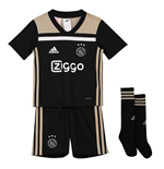 2018-2019 Ajax Adidas Away Mini Kit