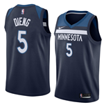 Men's Minnesota Timberwolves Gorgui Dieng Nike Icon Edition Replica Jersey