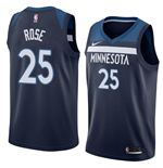 Men's Minnesota Timberwolves Derrick Rose Nike Icon Edition Replica Jersey
