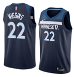 Men's Minnesota Timberwolves Andrew Wiggins Nike Icon Edition Replica Jersey