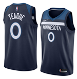 Men's Minnesota Timberwolves Jeff Teague Nike Icon Edition Replica Jersey