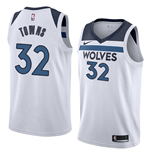 Men's Minnesota Timberwolves Karl-anthony Towns Nike Association Edition Replica Jersey