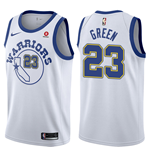 Men's Golden State Warriors Draymond Green Nike Hardwood Classic Replica Jersey
