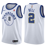 Men's Golden State Warriors Jordan Bell Nike Hardwood Classic Replica Jersey