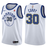 Men's Golden State Warriors Stephen Curry Nike Hardwood Classic Replica Jersey