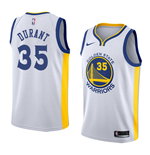 Men's Golden State Warriors Kevin Durant Nike Association Edition Replica Jersey