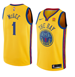 Men's Golden State Warriors Javale McGee Nike City Edition Replica Jersey