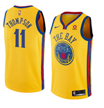 Men's Golden State Warriors Klay Thompson Nike City Edition Replica Jersey