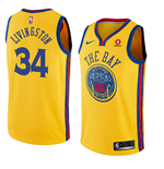 Men's Golden State Warriors Shaun Livingston Nike City Edition Replica Jersey