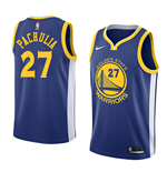 Men's Golden State Warriors Zaza Pachulia Nike Icon Edition Replica Jersey