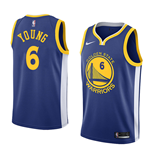 Men's Golden State Warriors Nick Young Nike Icon Edition Replica Jersey