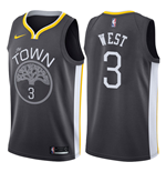 Men's Golden State Warriors David West Nike Statement Edition Replica Jersey