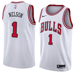 Men's Chicago Bulls Jameer Nelson Nike Association Edition Replica Jersey