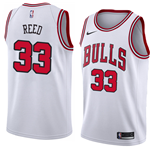 Men's Chicago Bulls Willie Reed Nike Association Edition Replica Jersey