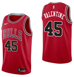 Men's Chicago Bulls Denzel Valentine Nike Icon Edition Replica Jersey