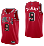 Men's Chicago Bulls Antonio Blakeney Nike Icon Edition Replica Jersey