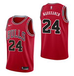 Men's Chicago Bulls Lauri Markkanen Nike Icon Edition Replica Jersey