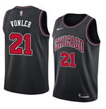 Men's Chicago Bulls Noah Vonleh Nike Statement Edition Replica Jersey